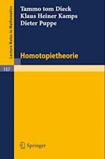 Homotopietheorie (Lecture Notes in Mathematics)