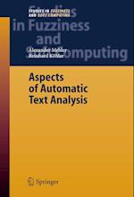Aspects of Automatic Text Analysis af Alexander Mehler, Reinhard Kohler