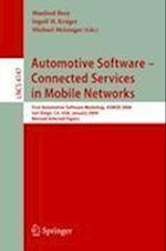 Automotive Software-connected Servicesin Mobile Networks (Lecture Notes in Computer Science, nr. 4147)