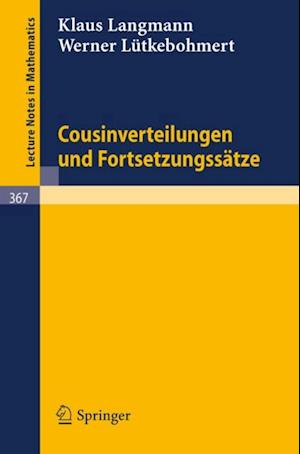 Cousinverteilungen und Fortsetzungssatze af K. Langmann, W. Lutkebohmert
