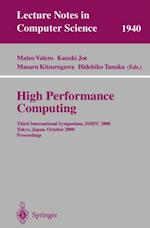 High Performance Computing (Lecture Notes in Computer Science)