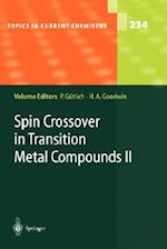 Spin Crossover in Transition Metal Compounds II (TOPICS IN CURRENT CHEMISTRY, nr. 234)