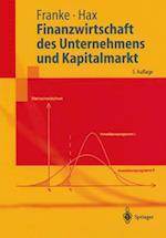 Finanzwirtschaft Des Unternehmens Und Kapitalmarkt af G]nter Franke, Gunter Franke, Herbert Hax