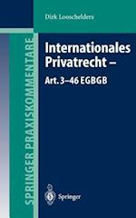 Internationales Privatrecht - Art. 3-46 EGBGB (Springer Praxiskommentare)
