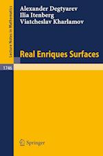 Real Enriques Surfaces af Ilia Itenberg, Alexander Degtyarev, Viatcheslav Kharlamov