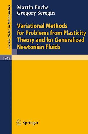 Variational Methods for Problems from Plasticity Theory and for Generalized Newtonian Fluids