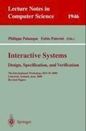 Interactive Systems. Design, Specification, and Verification