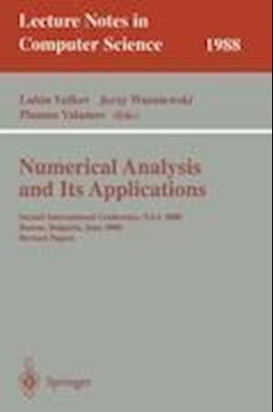 Numerical Analysis and Its Applications : Second International Conference, NAA 2000 Rousse, Bulgaria, June 11-15, 2000. Revised Papers