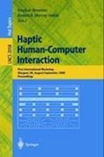 Haptic Human-computer Interaction (Lecture Notes in Computer Science, nr. 2058)