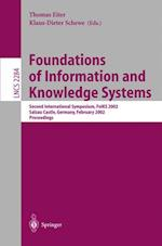 Foundations of Information and Knowledge Systems (Lecture Notes in Computer Science, nr. 2284)