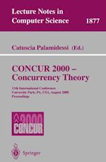 CONCUR 2000 - Concurrency Theory (Lecture Notes in Computer Science)