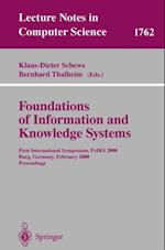 Foundations of Information and Knowledge Systems (Lecture Notes in Computer Science)