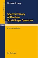 Spectral Theory of Random Schrodinger Operators (Lecture Notes in Mathematics)