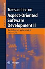 Transactions on Aspect-Oriented Software Development II (Lecture Notes in Computer Science)