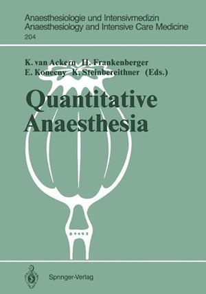 Quantitative Anaesthesia