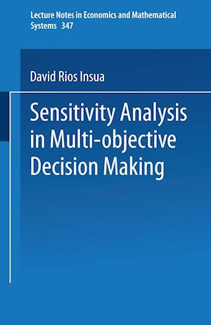Sensitivity Analysis in Multi-objective Decision Making