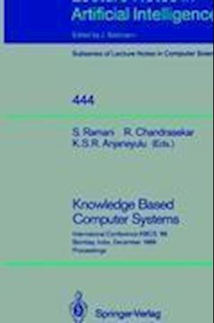 Knowledge Based Computer Systems