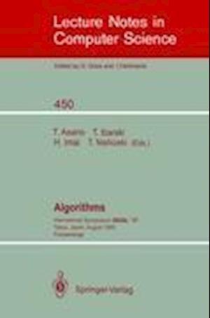 Algorithms : International Symposium SIGAL '90, Tokyo, Japan, August 16-18, 1990. Proceedings
