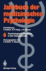 Psychologische Probleme in Der Humangenetik