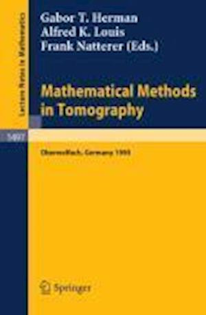 Mathematical Methods in Tomography
