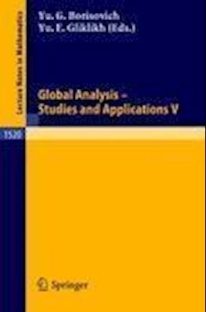 Global Analysis - Studies and Applications V