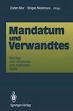 Mandatum und Verwandtes af Dieter Norr