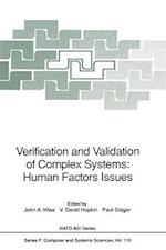 Verification and Validation of Complex Systems: Human Factors Issues (NATO Asi Series / Computer and Systems Sciences, nr. 110)