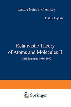 Relativistic Theory of Atoms and Molecules II