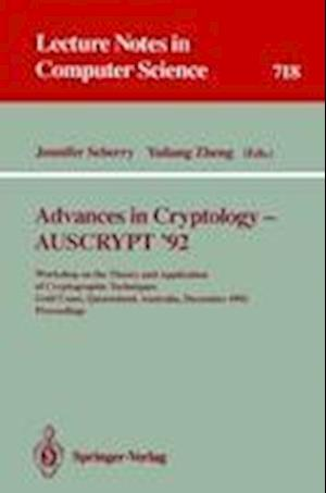 Advances in Cryptology - AUSCRYPT '92
