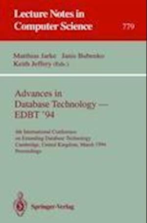 Advances in Database Technology - EDBT '94