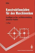 Konstruktionslehre Fur Den Maschinenbau af Rudolf Koller