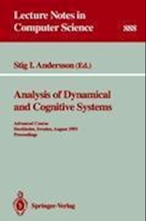 Analysis of Dynamical and Cognitive Systems