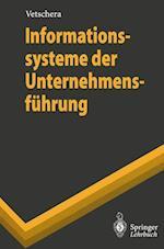 Informationssysteme der Unternehmensfuhrung af Rudolf Vetschera