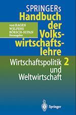 Springers Handbuch Der Volkswirtschaftslehre 2 af Axel B Rsch Supan, Axel Barsch Supan, Axel Borsch Supan
