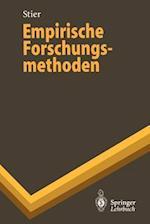 Empirische Forschungsmethoden af Winfried Stier