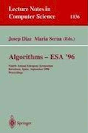 Algorithms - ESA '96 : Fourth Annual European Symposium, Barcelona, Spain, September 25-27, 1996. Proceedings