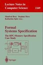 Formal Systems Specification (Lecture Notes in Computer Science, nr. 1169)