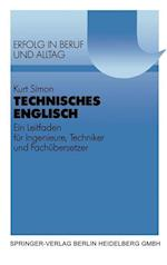 Technisches Englisch af Kurt Simon