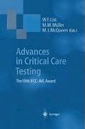 Advances in Critical Care Testing : The 1996 IFCC-AVL Award