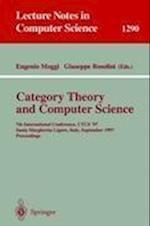 Category Theory and Computer Science (Lecture Notes in Computer Science, nr. 1290)