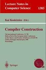Compiler Construction (Lecture Notes in Computer Science, nr. 1383)