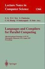 Languages and Compilers for Parallel Computing (Lecture Notes in Computer Science, nr. 1366)