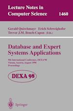 Database and Expert Systems Applications (Lecture Notes in Computer Science, nr. 1460)