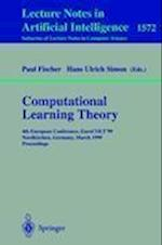 Computational Learning Theory af Paul Fischer, Hans Ulrich Simon
