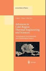 Advances in Cold-Region Thermal Engineering and Sciences (LECTURE NOTES IN PHYSICS, nr. 533)