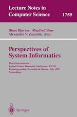 Perspectives of System Informatics (Lecture Notes in Computer Science, nr. 1755)