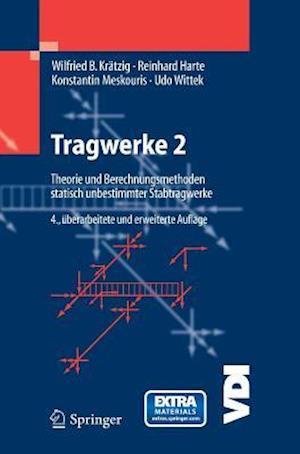 Tragwerke 2 af wilfried b krdtzig bog k b hos saxo for Statik der stabtragwerke