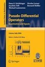 Pseudo-differential Operators af Bernard Helffer, Man Wah Wong, Michael P Lamoureux