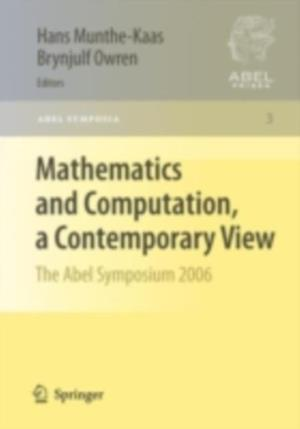 Mathematics and Computation, a Contemporary View