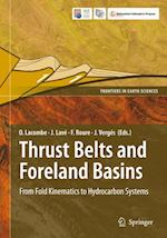 Thrust Belts and Foreland Basins af Lacombe